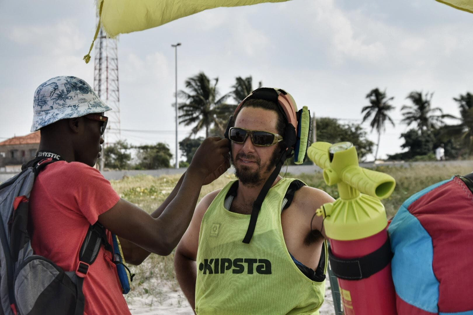 Kitesurfing in Mozambique - where to get Kiteboarding lessons in Maputo